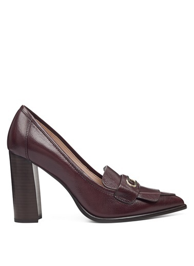 Nine West Klasik Ayakkabı Bordo
